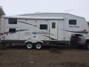 2006 FOUR WINDS 24 FOOT 5TH WHEEL TRAILER, LOW PRICE