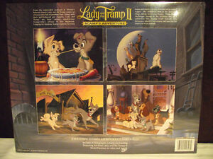 Disney Lady and the Tramp II Lithographs (Set of 4) Edmonton Edmonton Area image 2