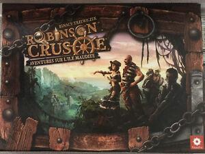 Robinson Crusoe. Board game. Jeu de société.