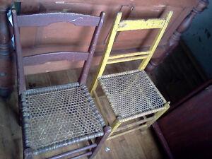 Early Acadian Chairs Gatineau Ottawa / Gatineau Area image 1