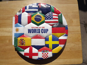 """FS: """"History Of The World Cup"""" (Soccer Ball) Hardcover Edition B"""