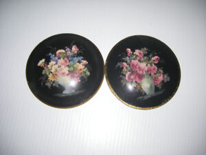 Two Victorian decorative painting