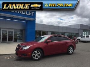 2013 Chevrolet Cruze LT Turbo  ONE OWNER - LEATHER SEATS - ONLY