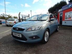 2008 Ford Focus 1.6 TDCi Titanium 5dr [110] [DPF] 5 door Hatchback