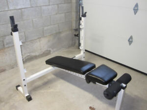 Multi Purpose Olympic Bench gym weights exercise