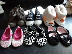 Size 1-2 baby girls shoes