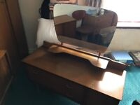 Solid wooden dressing table ideal for shabby chic project FREE