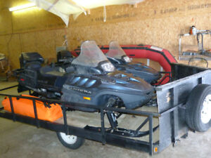 Two  Arctic Cat Pantera Snowmobiles  Excellent Condition!