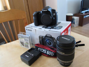 Canon 60D + Objectif Canon 18-200mm IS