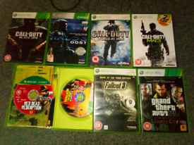 Xbox 360 games job lot