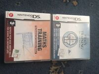 Nintendo DS Games (brain training) bundle