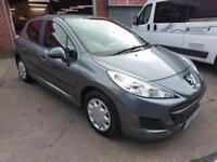 PEUGEOT 207 1.4 HDi DIESEL 5 DOOR ONLY £20 TAX AIR CON VERY CHEAP TO RUN 2010 60
