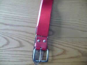 Adult Adjustable Baseball Belt
