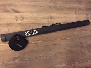 "Echo 10'10"" 8Wt 4 piece fast action with sage reel NEW obo trade"