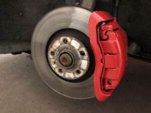 PROFESSIONAL CALIPER REFINISHING AND PAINTING! HIGH END!