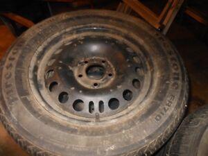 215/60r16 firestone FR710 winter tires