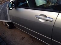 Lexus is200 silver 1c0 any door complete 98-05 breaking spares is 200 is300 altezza