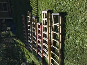 6 featherlite Ladders for sale