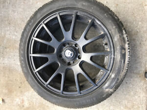 Pirelli winter tires and mags 225 50 17