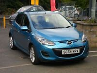 Mazda 2 1.3 TAMURA FULL SERVICE HISTORY AIR CONDITIONING ONLY ONE OWNER (blue) 2015