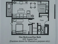 Available July 1st,1 Bdrm. Adult Only, Non-Smoking, No Pets