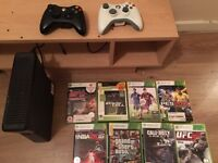 Xbox 360 good condition 2 controllers