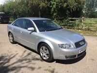 Audi A4 auto diesel 1 year mot service history