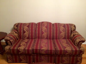 Living room couch and love seat pillows included