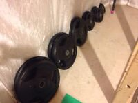 Olympic Weight Plates - 255 lbs