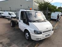51 REG FORD TRANSIT RECOVERY TRUCK SOLID TRUCK RECENT RECON ENGINE SUPERB DRIVE!