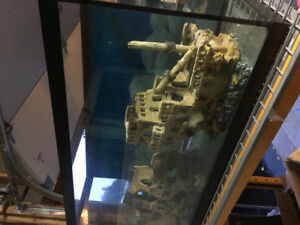 Aquarium 90 gal just add fish Complete all included