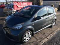 2006 (55) TOYOTA AYGO 998cc, £20 TAX, 1 YEAR MOT, WARRANTY, NOT YARIS CORSA CLIO POLO MICRA