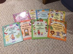8 Children's French books