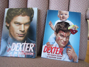 Dexter-3rd and 4th seasons on DVD