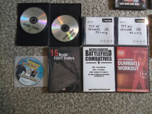 DVD Lot 40 + titles Includes Self Defense & Music Concerts