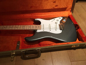 2012 Fender Eric Clapton strat in Pewter ,case and case candy