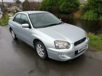 2003 Subaru Impreza 2.0 GX Sport 4WD 4dr SALOON Petrol Manual