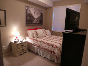 Avail Immed -2 bed, 2 bath fully furnished condo- fort sask Strathcona County Edmonton Area image 7