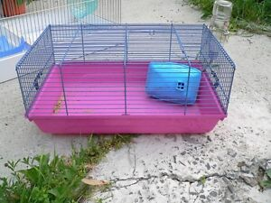 2 petite cage a hamster a donner