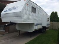 fifth wheel skyline nomad 25 pieds 2003
