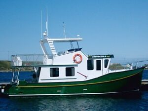 Trawler 41 pieds a vendre