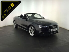 2013 AUDI A5 S LINE SPECIAL EDITION TDI CONVERTIBLE SERVICE HISTORY FINANCE PX
