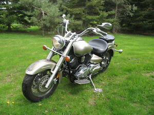 Reduced to $1900.00 - 2003 Vstar 1100 with a 2002 parts bike