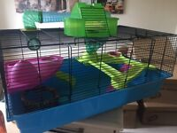 Large Hamster Cage with accessories