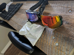 Smith IOX Goggles.