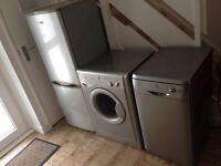 Used washing machine, dish washer, fridge freezer