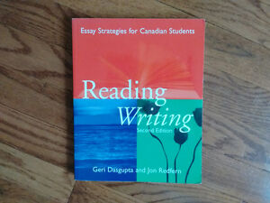 Reading Writing - Essay Strategies for Canadian Students -2nd Ed Cambridge Kitchener Area image 1