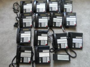 Lot of USED NEC/ Nitsuko Phones &DSS 92373C/92370B/92250B/92756