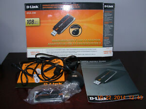 D Link computer Router,mint condition,gently used,smoke free