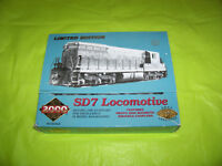 ho scale sd7 locomotive